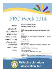 PRC Week 2014