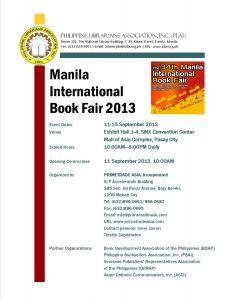 The 34th Manila International Book Fair