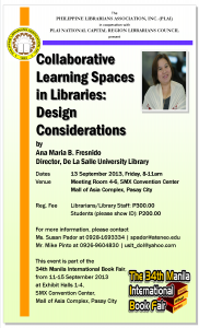Collaborative Learning Spaces: A Talk by Ana Fresnido